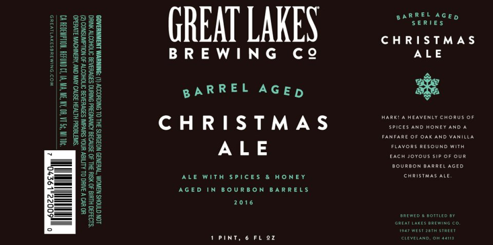 Great Lakes Barrel Aged Christmas Ale