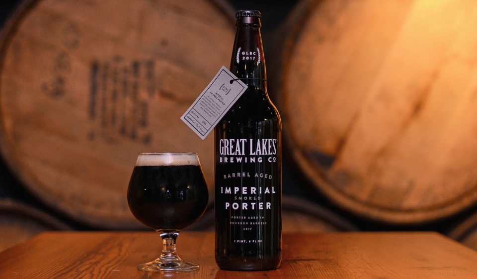 Great Lakes Barrel Aged Imperial Smoked Porter