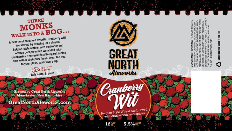 Great North Aleworks Cranberry Wit