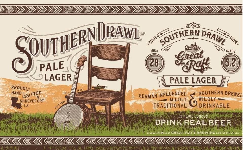 Great Raft Brewing Southern Drawl