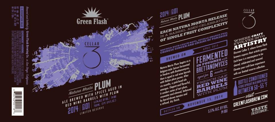 Green Flash Natura Morta Plum