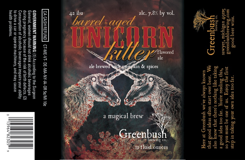Greenbush Barrel Aged Unicorn Killer