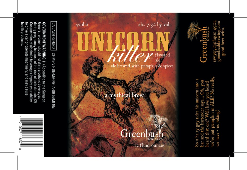 Greenbush Unicorn Killer