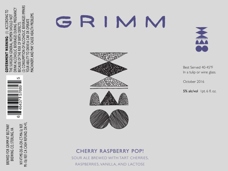 Grimm Cherry Raspberry Pop!