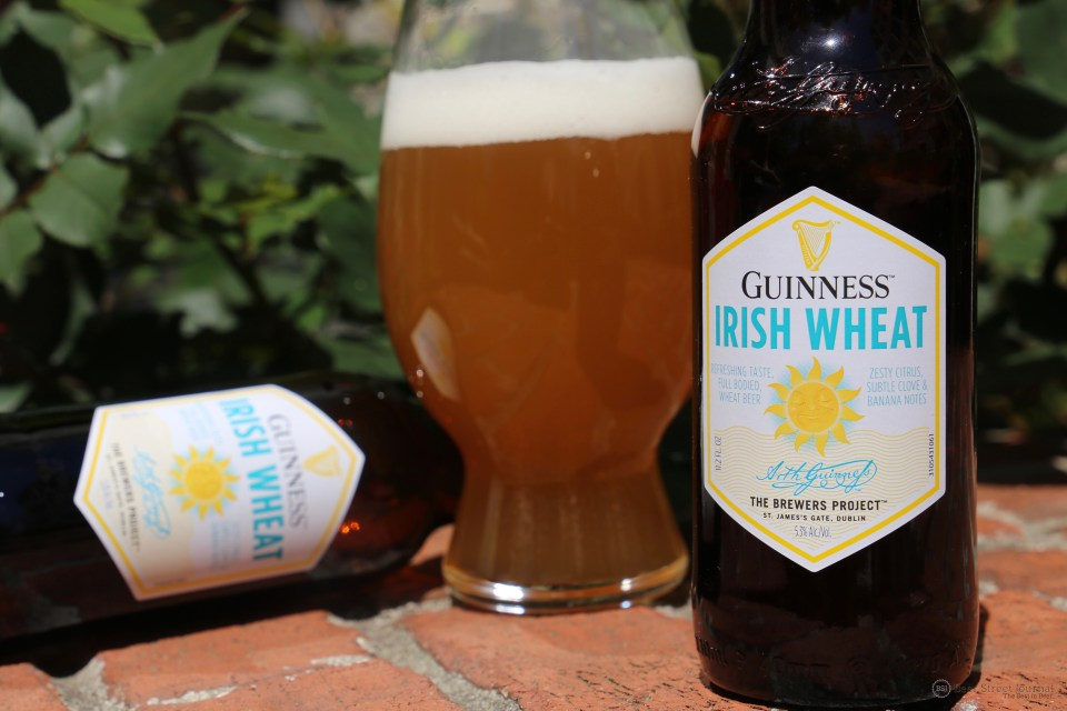 Guinness Irish Wheat bottle