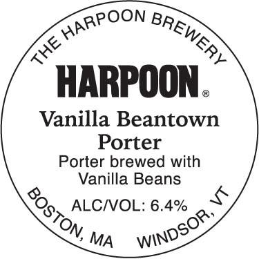 Harpoon Vanilla Beantown Porter