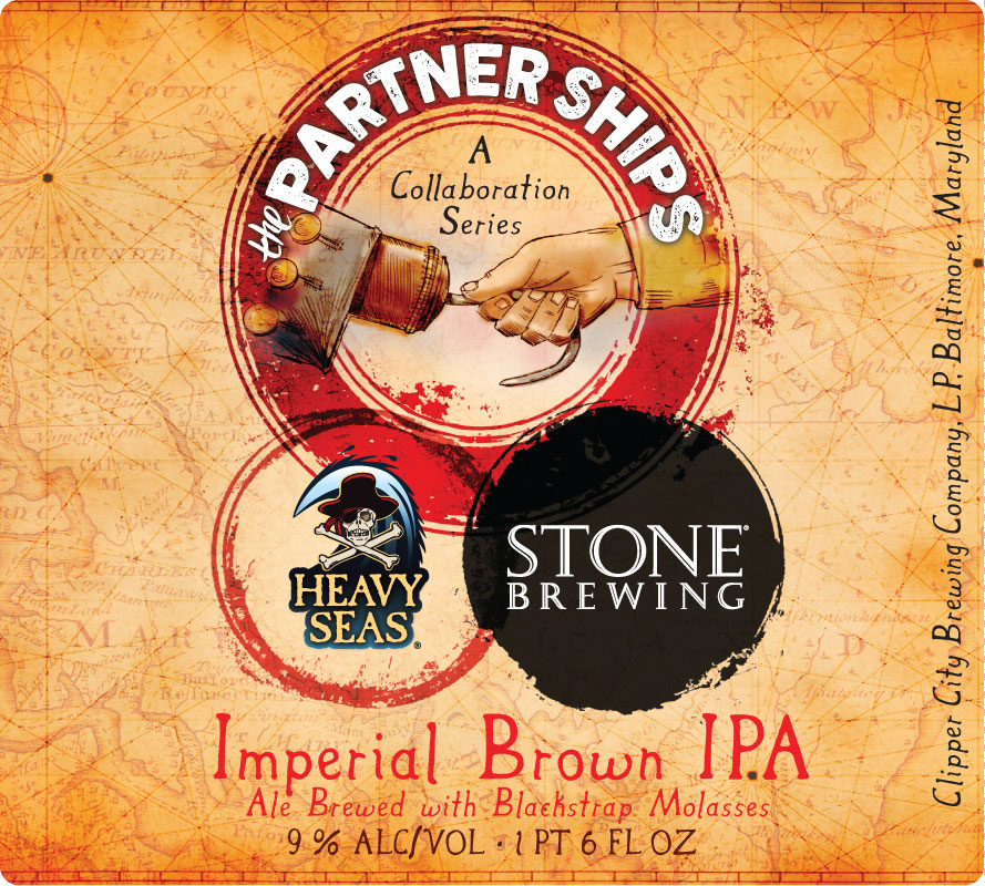 Heavy Seas Partner Ships Imperial Brown Ale