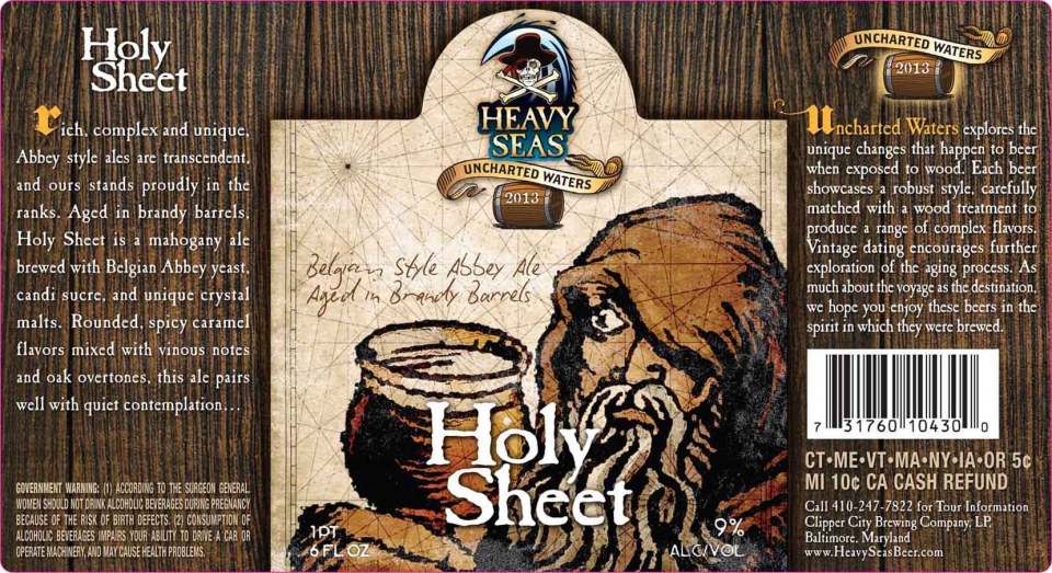 Heavy Seas Uncharted Waters Holy Sheet