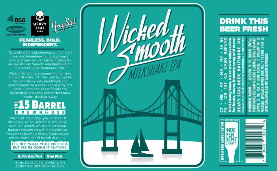 Heavy Seas Wicked Smooth Milkshake IPA