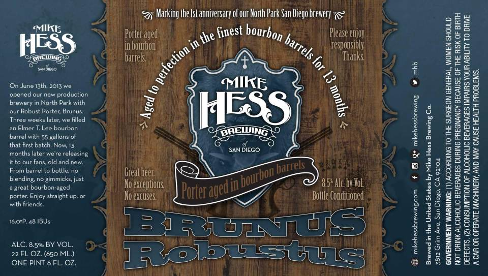 Hess Brewing Brunus Robustus