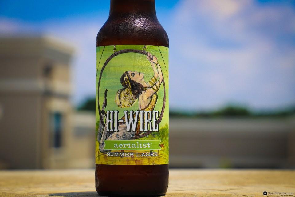 Hi Wire Aerialist Lager Bottle