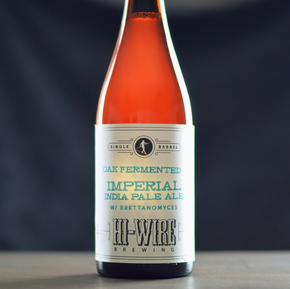 Hi-Wire Oak Fermented Imperial IPA with Brett