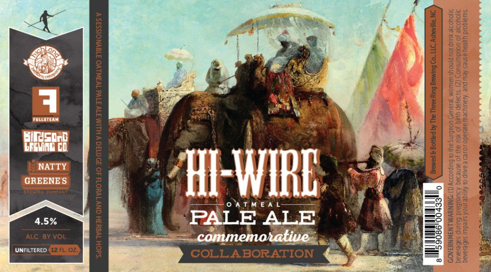 Hi-Wire Oatmeal Pale Ale