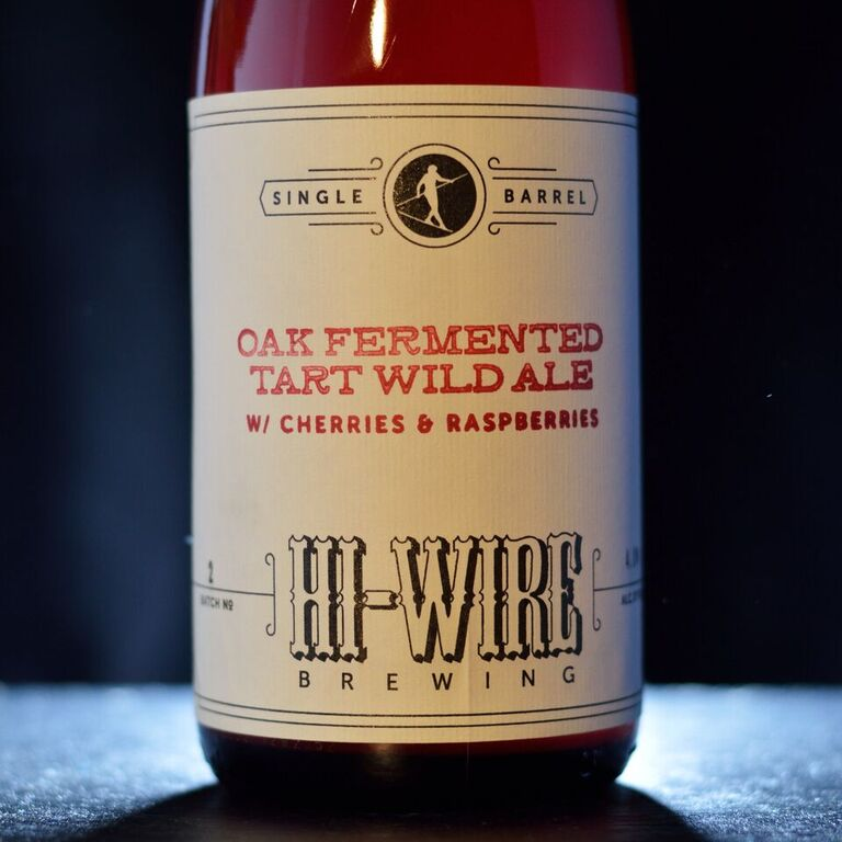 Hi-Wire Single Barrel Oak Fermented Tart Wild Ale