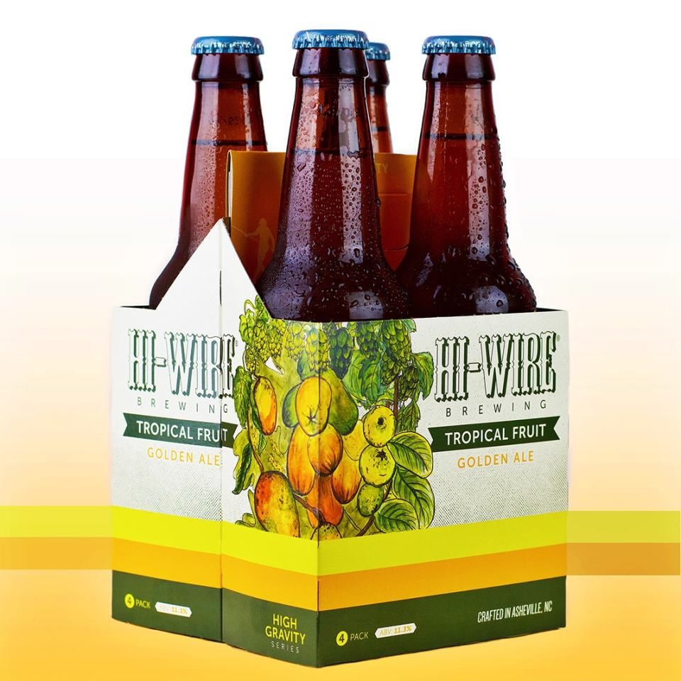 Hi-Wire Tropical Fruit Golden Ale