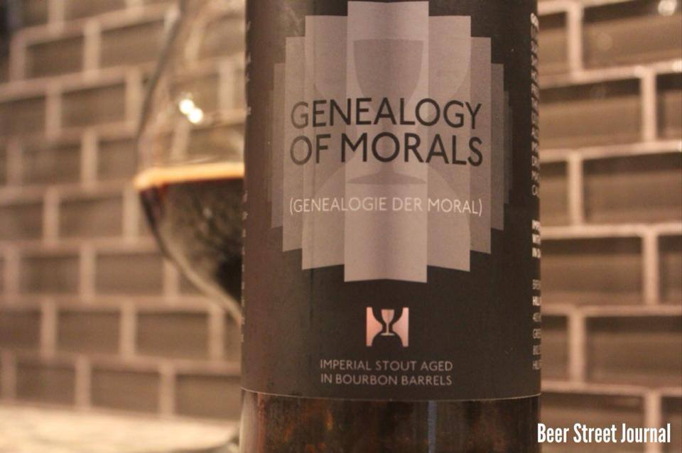 Hill Farmstead Genealogy of Morals bottle