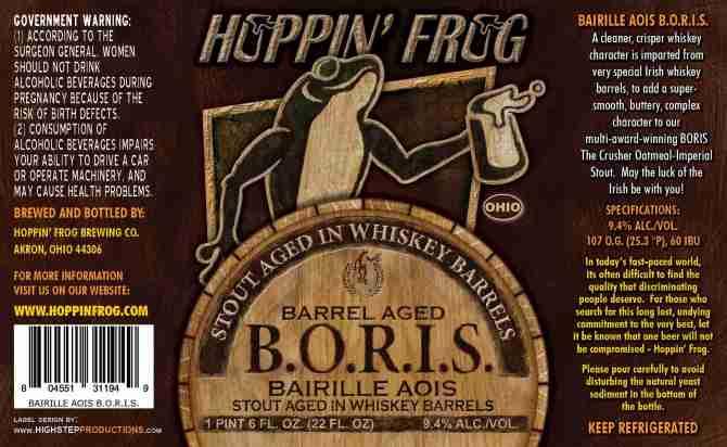 Hoppin' Frog Bairille Aois