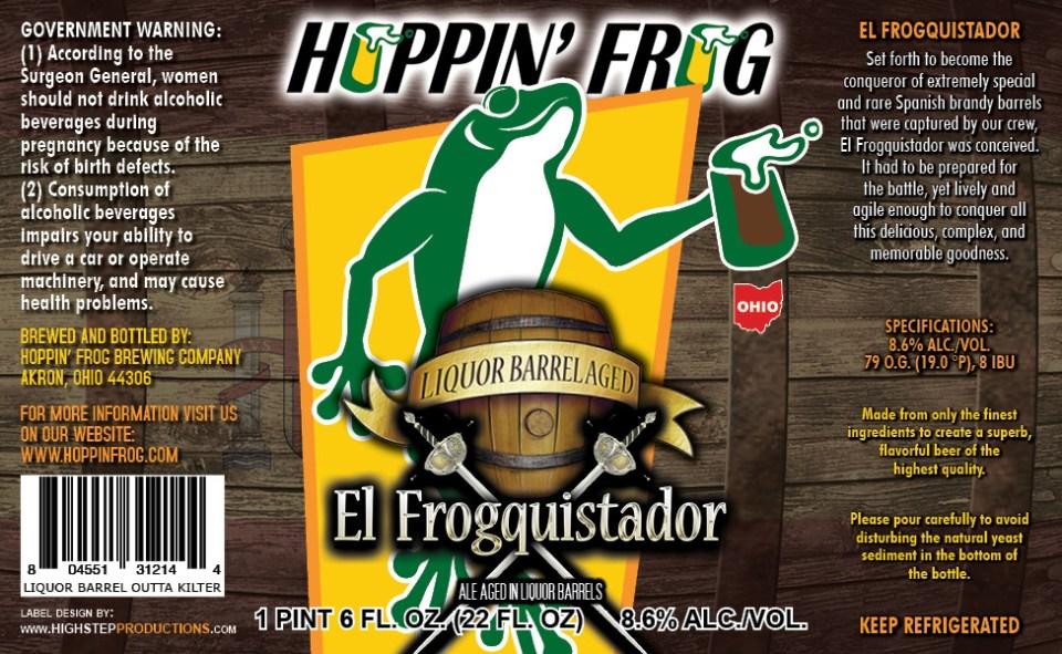 Hoppin Frog El Froguistador