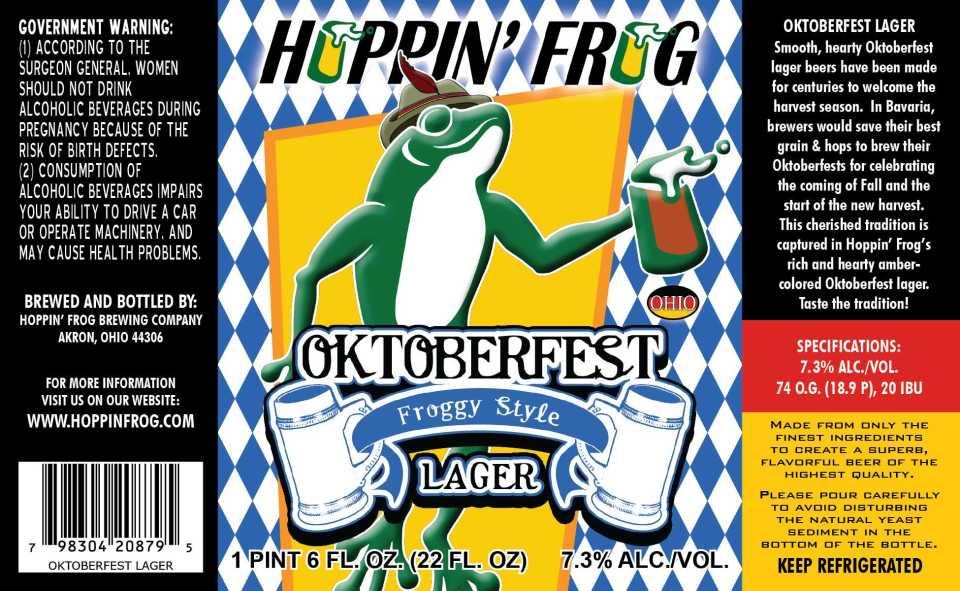 Hoppin' Frog Oktoberfest
