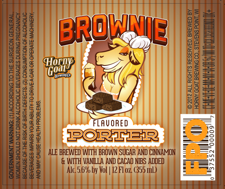 Horny Goat Brownie Porter