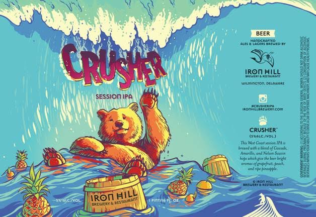Iron Hill Crusher Session IPA
