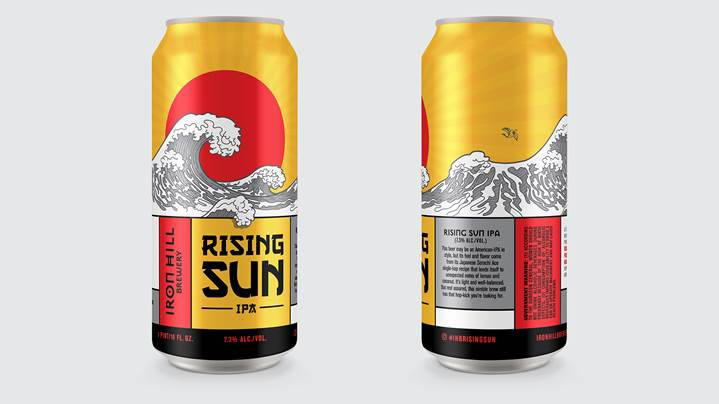 Now in 16oz cans: Iron Hill Rising Sun IPA - Beer Street Journal