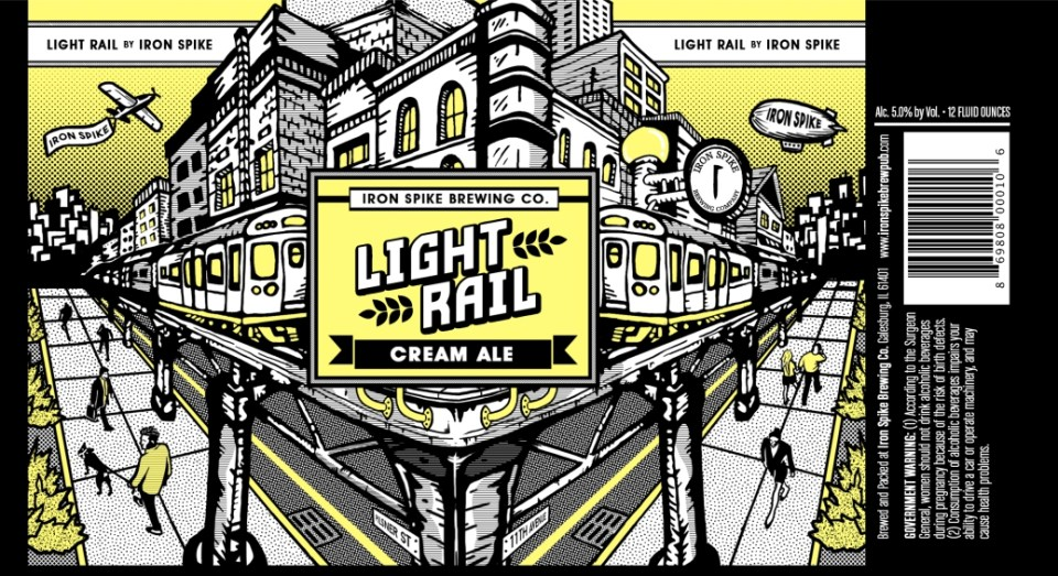 Iron Spike Brewing Light Rail