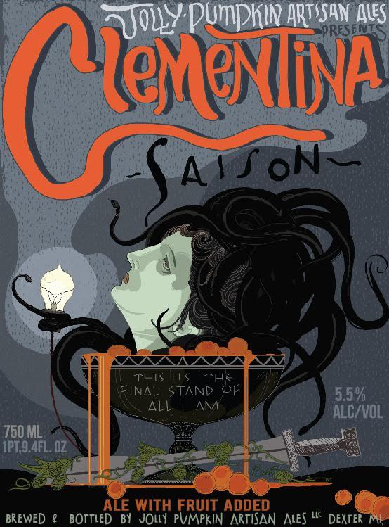 Jolly Pumpkin Clementina Saison