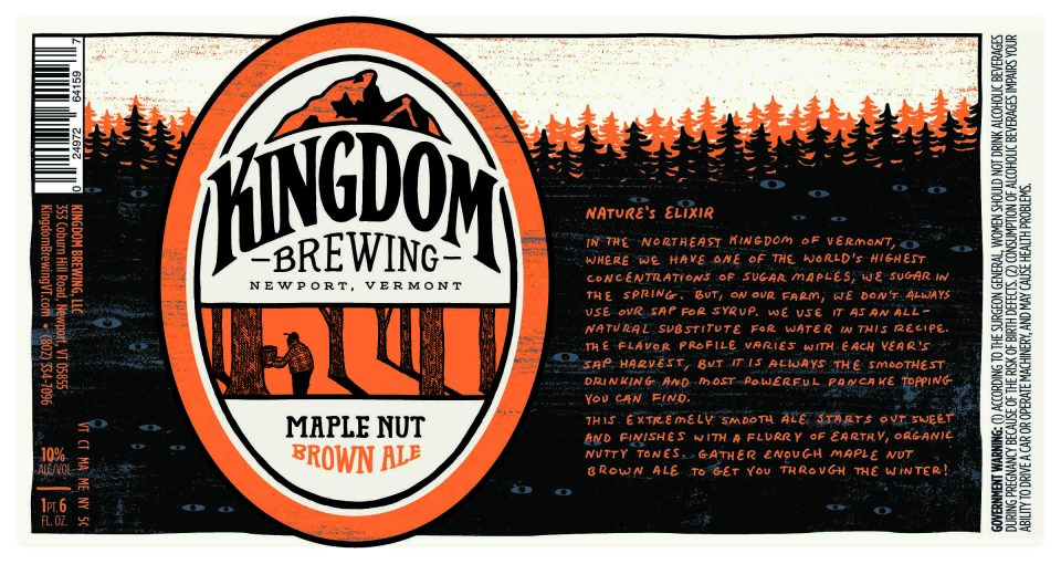 Kingdom Brewing Maple Nut