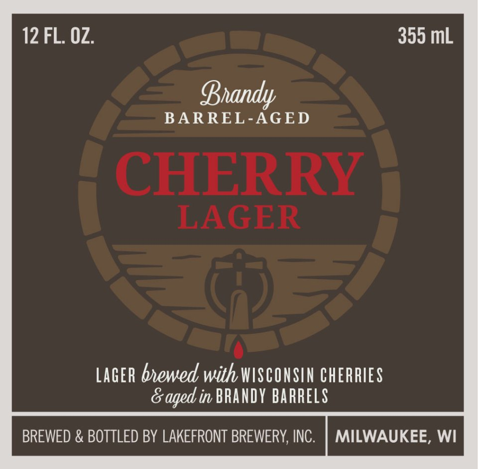 Lakefront Brandy Barrel Aged Cherry Lager