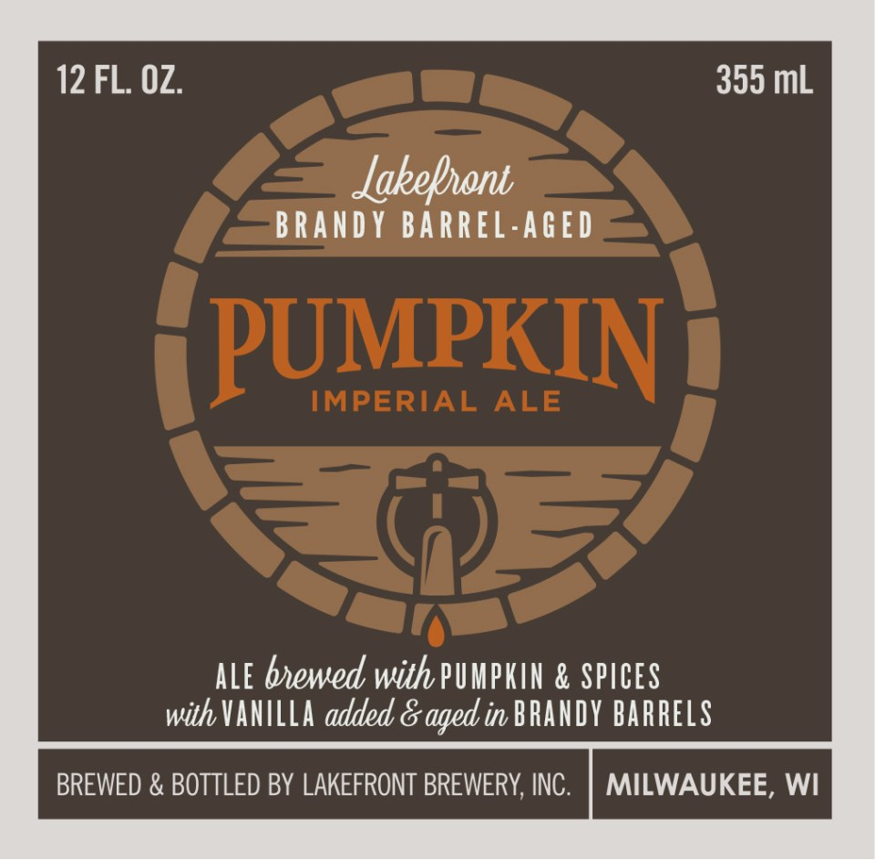 Lakefront Brandy Barrel-Aged Pumpkin Imperial Ale