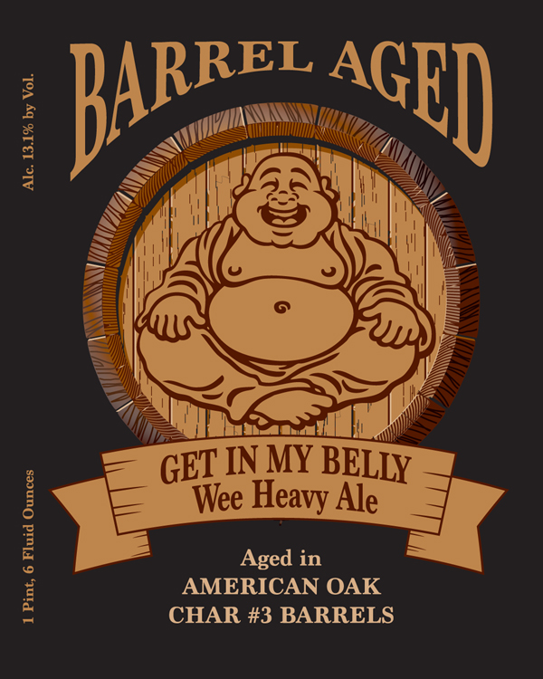 Left Coast Barrel Aged Get in My Belly