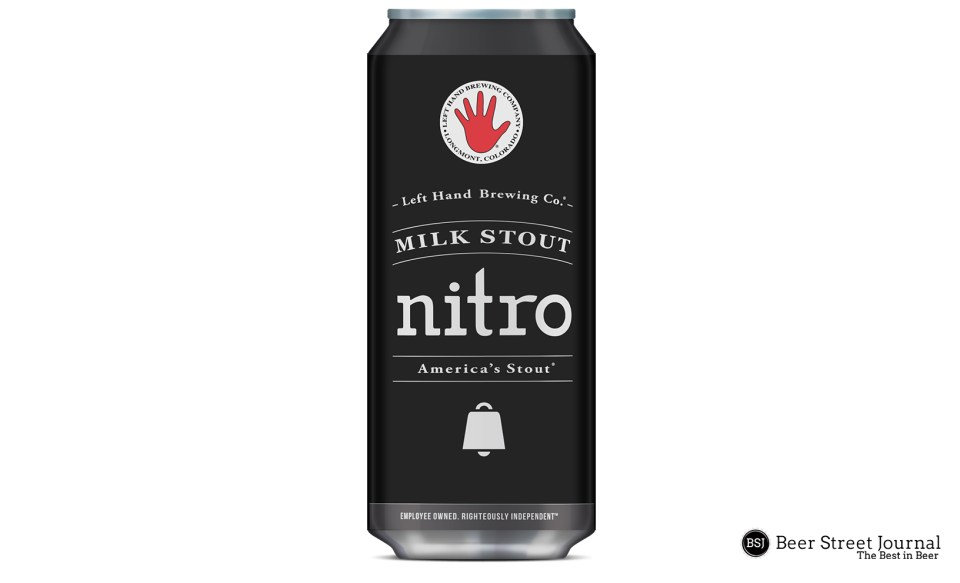 Left Hand Milk Stout Nitro cans