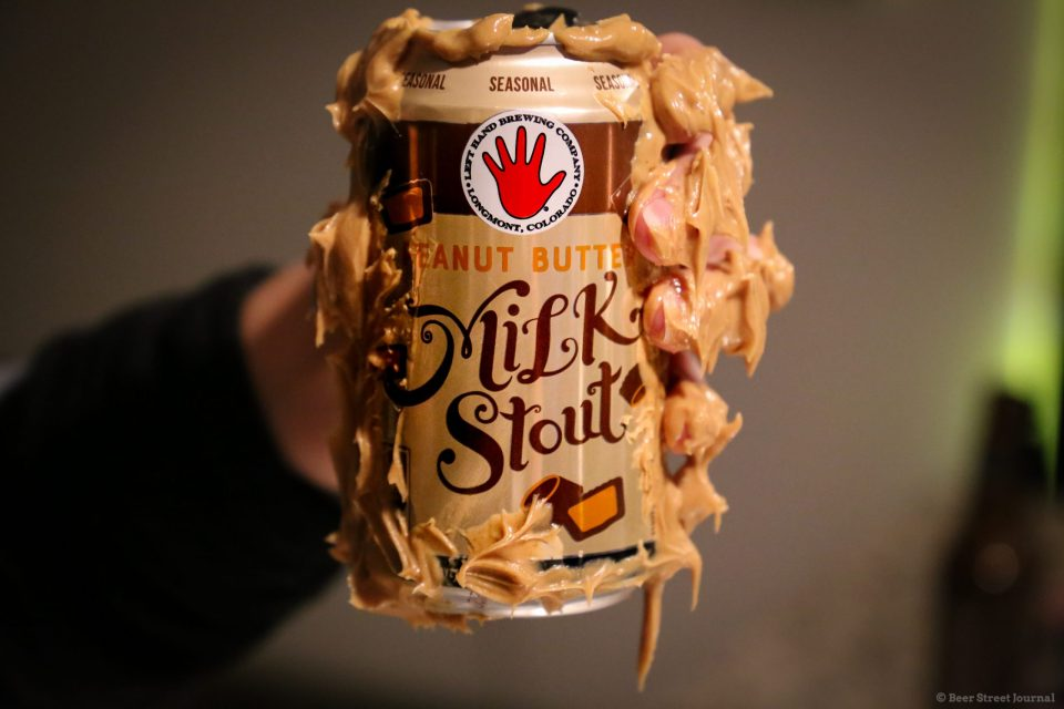 Left Hand Peanut Butter Milk Stout Cans