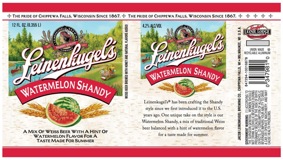 Leinenkugel Watermelon Shandy