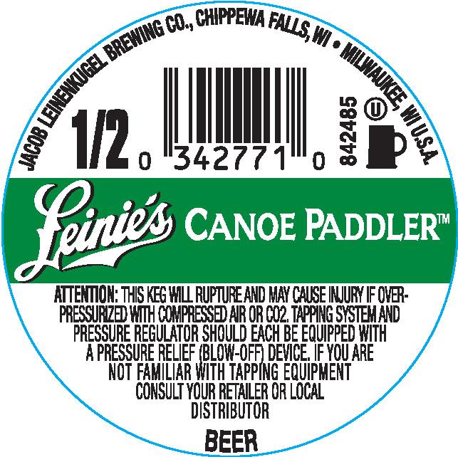 Leinie's Canoe Paddler