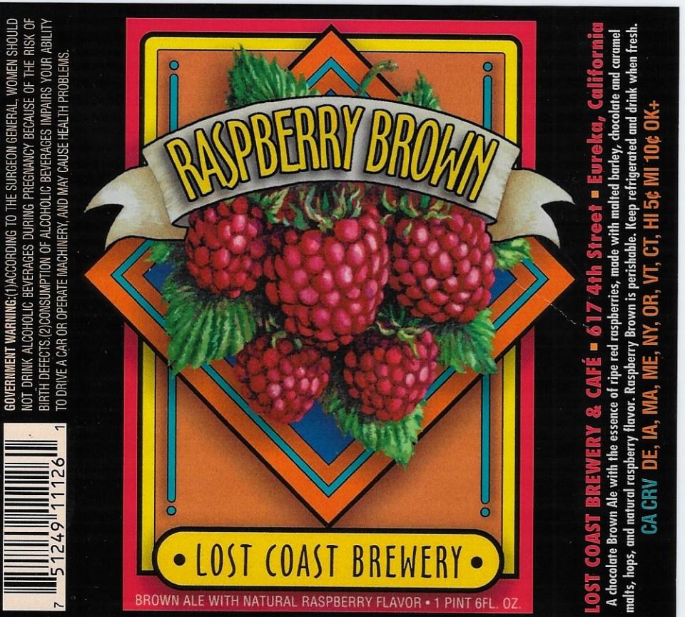 Lost Coast Raspberry Brown