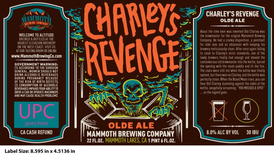Mammoth Brewing Charley's Revenge