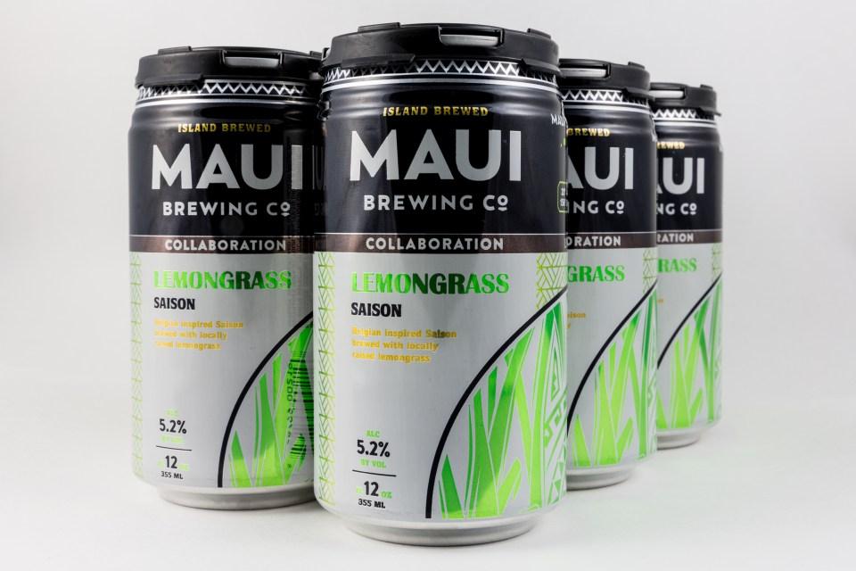 Maui Lemongrass Saison