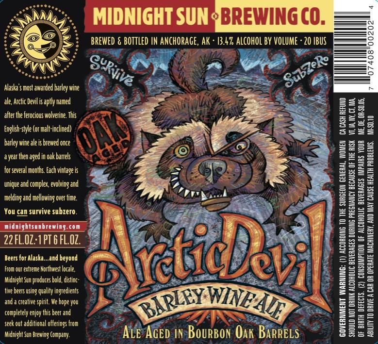 Midnight Sun Arctic Devil Barleywine