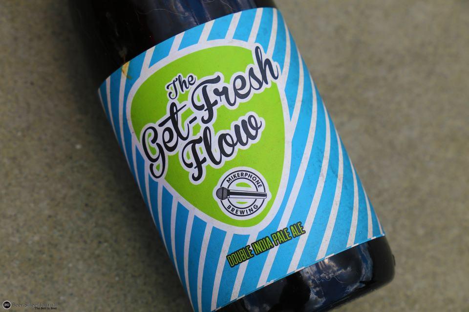 Mikerphone Brewing Get Fresh Flow bottle