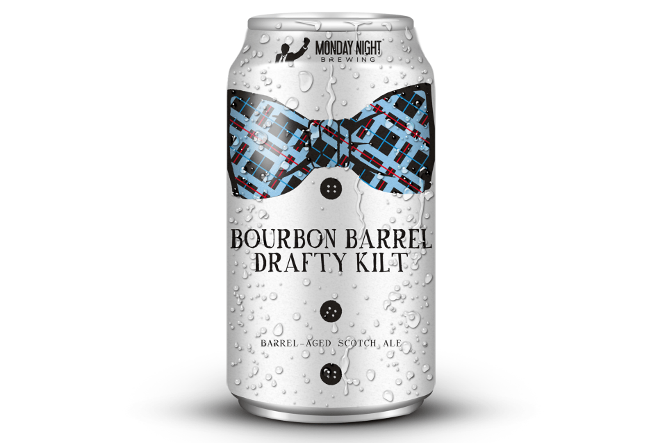 Monday Night Bourbon Barrel Drafty Kilt can