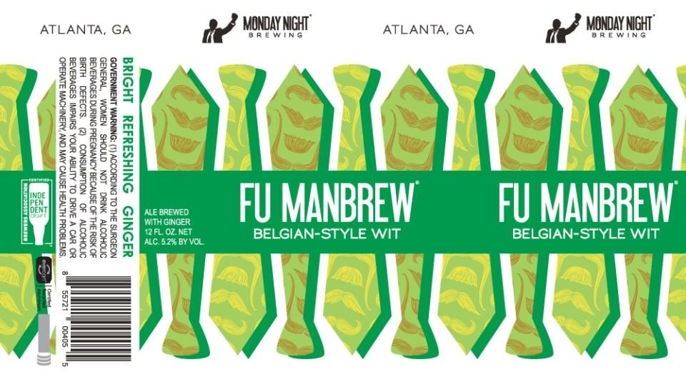 Monday Night Fu ManBrew Cans