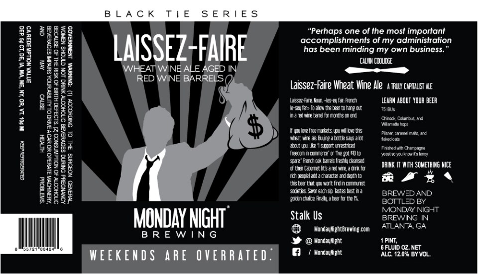 Monday Night Laissez-Faire
