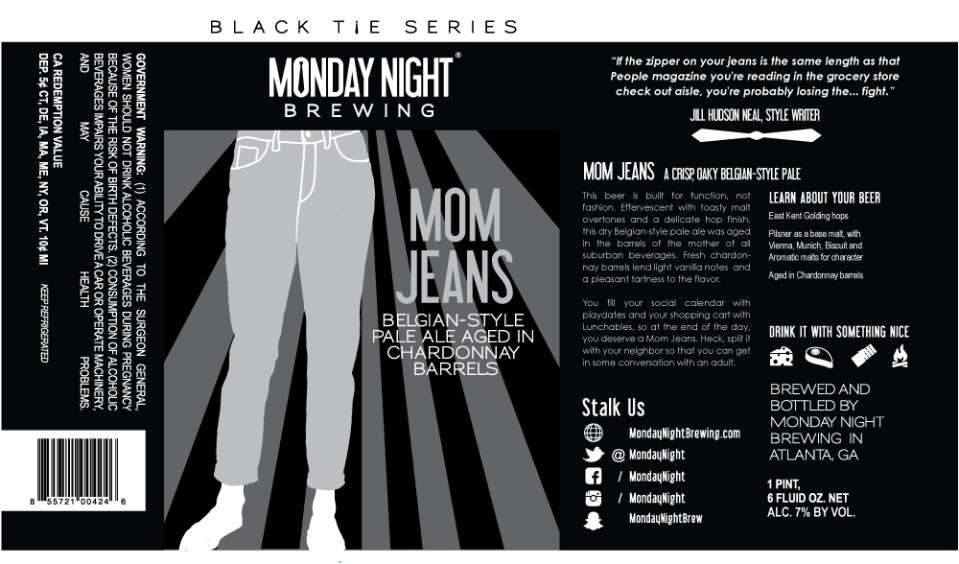 Monday Night Mom Jeans