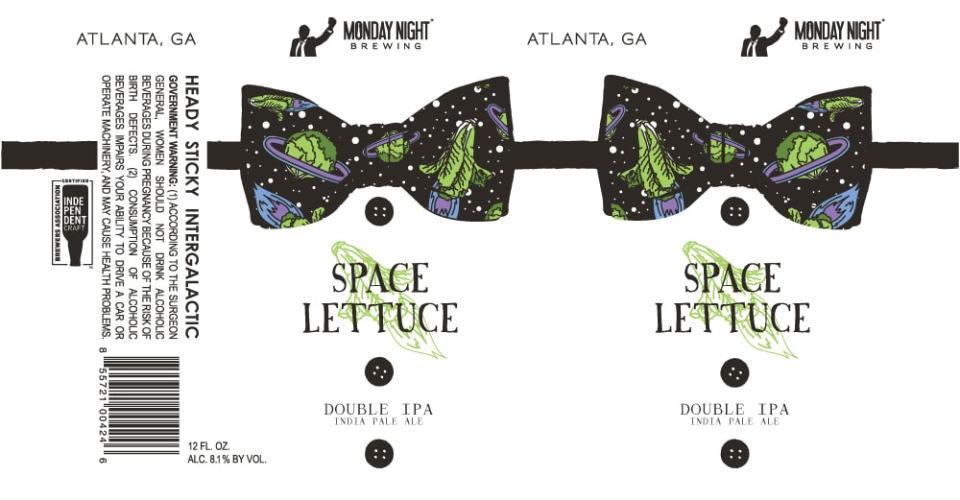 Monday Night Space Lettuce