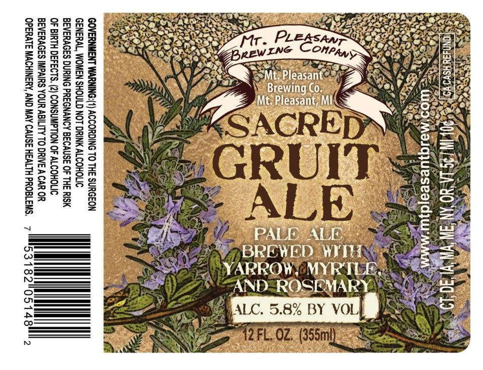 Mt Pleasant Sacred Gruit Ale