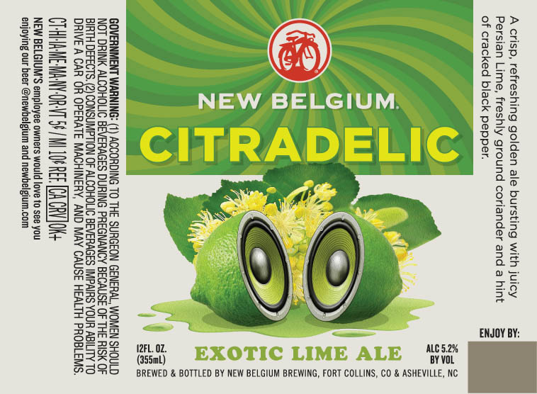 New Belgium Citradelic Exotic Lime Ale