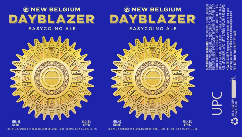 New Belgium Dayblazer Easygoing Ale