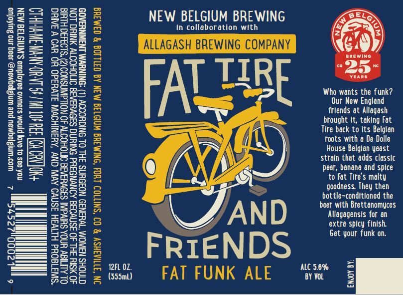New Belgium Fat Funk Ale